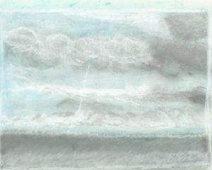 Himmel och hav skiss